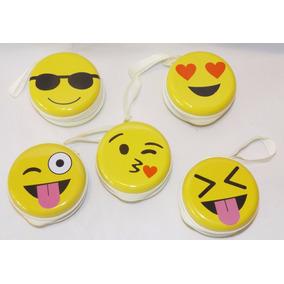 Monedero Porta Audifonos De Emojis A25
