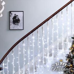 Luces A Led X 100 Blancas 9mts Navidad Navideñas Arbol