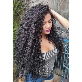 Cabelo Organico Cacheado Humano 70 Cm 200g Mega Hair Natural