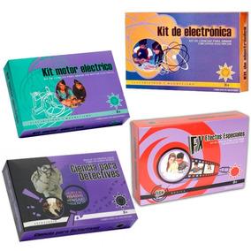 Kit Motor Eléctrico Juego Ciencia Para Todos Giro Didáctico