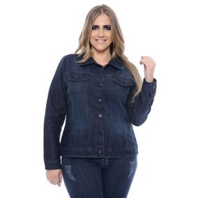 Jaqueta Jeans Tamanho Especial