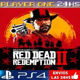 Red Dead Redemption 2 Ps4 Digital 1° | Envio 5
