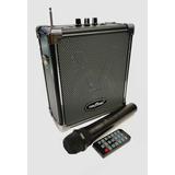 Bafle Amplificador Bluetooth Inalámbrico + Microfono + Envio