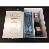 Kit Caixa Com 1 Taça P/ Champanhe + 01 Baby Chandon 187 Ml