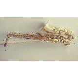 Saxofón Marca Silver Tone Alto Sin Estuche