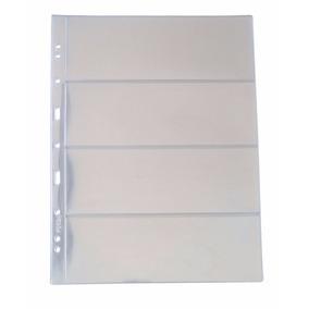 Folha Plástico Cédula Acetato Pccb/mingt 4 Divisões (46174)