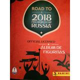 Álbum Road To Russia 2018 Completo Las 480 Figuritas -envíos