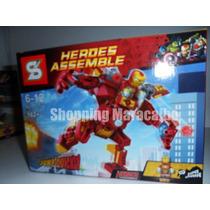 Spiderman Y Ironman Legos De Mas De 100 Piezas * Tienda Fisi