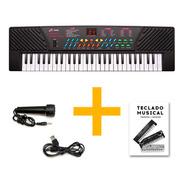 Organo Piano Teclado Musical Infantil Microfono Mq5468 Full