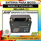 Bateria Grupo Electrogeno Gamma Y Mas 12v 11amp Gel Hellux