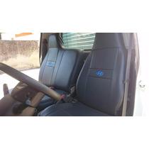 Capa Banco De Couro Courvin Ecológico Caminhão Hyundai Hr