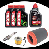 Kit Revisao Completa Quadriciclo Honda Fourtrax 420 Oleo