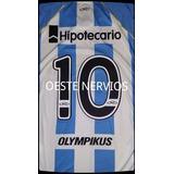 Estampado Numero Camiseta Racing Olympikus 2012-2013