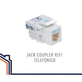 Keystone Jack Coupler Rj11 Telefonico Hembra Wireplus