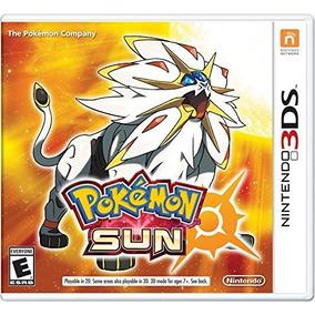 Jogo Nintendo Pokemon Sun 3ds Mídia Física Lacrado Envio Já