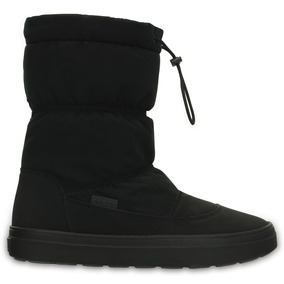 Crocs Originales Lodgepoint Pull-on Boot W Negro Mujer 001