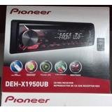 Autoestereo Usb-cd-fm Marca Pioneer Deh-x1950ub