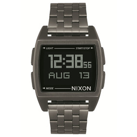 Reloj Nixon Plateado Base