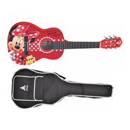 Violão Disney Minnie Infantil Nylon Phx Vid Mn1
