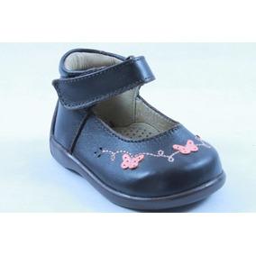 Zapatos Miniburbujas Café Para Niña 11 Mod 25302