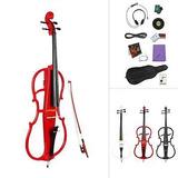 Ammoon 4/4 Cello Eléctrico Completo De Tamaño En Estilo...