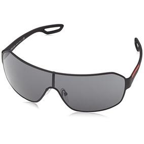 Prada Sport 52qs Dg01a1 Negro 52qs Visor Gafas De Sol Lente