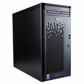 Servidor Hp Proliant Ml10 Core I3-6100,3.5ghz,8gb Ram,500 Dd
