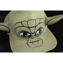 Gorra Snapback Star Wars Yoda - Orejas -licencia Star Wars