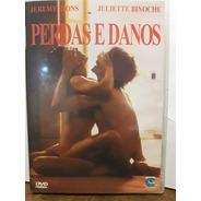 Dvd - Perdas E Danos - Jeremy Irons E Juliette Binoche