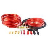 Calibre 4 Amp Kit Amplificador De Instalación De Cableado Co