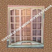 Ventanas Algarrobo Con Medio Punto Interior/exterior