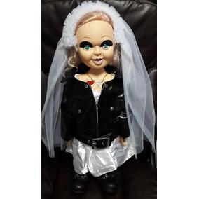 Boneca Tiffany - Versão Bride Of Chucky - Tamanho Real 65cm