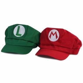 Boné Mario Bros Ou Luigi Boina Chapéu Cosplay Pronta Entrega