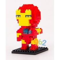 Figura Iron Man - Bloques Para Armar / Rompecabezas