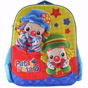 Mochila Infantil Patati Patata Média Pacific 917m05
