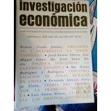 Investigación Económica. Ramón Tirado Jiménez