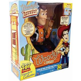 Comisario Woody Interactivo Toy Story Disney De Coleccion !