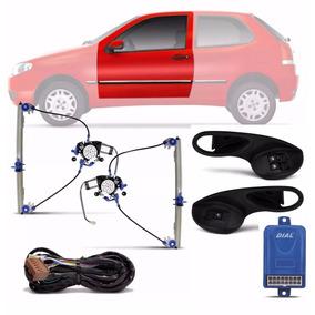 Kit Vidro Eletrico Palio/strada 2 Pt 2010 Sensorizado