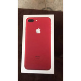 Oferta Iphone 7 Plus 128gb Red Garantia Apple S/. 2300