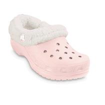 Crocs Kids Mammoth Rosas Con Forro De Lana Talla 10-11 Nuevo