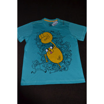 Remera Adventure Time - Hora De Aventuras Importada Jake !!