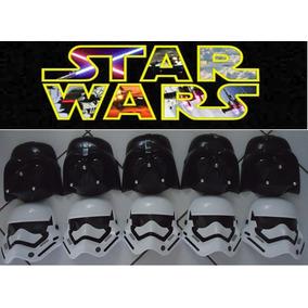 Kit 2 Mascara Star Wars Dart Vader E Stormtroopers