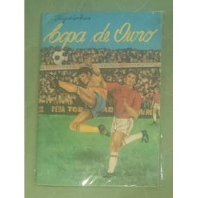 Album Copa De Ouro Ano 1974 Editora Pedro Trotta