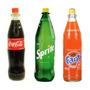 Coca Cola, Sprite, Fanta Vidrio Retornable 1250cc