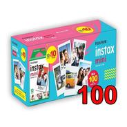 Filme P/ Instax Mini 8 9 7s 90 Polaroid 300 C/ 100 Fotos