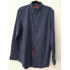 Carolina Herrera | Camisa Talla 16 1/2 (grande) Azul