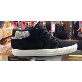Zapatillas - Converse Cons Tre Star M Black White