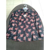 Blusa Urban Dama Modelo:estampada Vestir Casual Vaquera