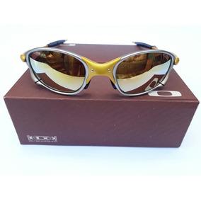 abbd9a2082fb8 Taça Cromado Dourado De Sol Oakley - Óculos De Sol Oakley Com lente ...