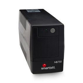 Ups Regulador Smartbitt 750va/375 Watts De 6 Contactos